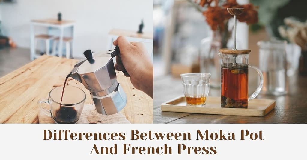 Differences Between Moka Pot And French Press
