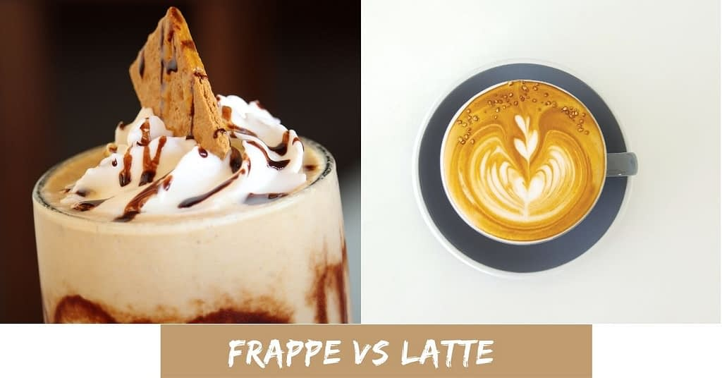 Difference Between Frappe And Latte